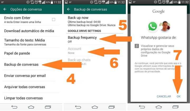 backup whatsapp google drive 2a 720x421 - WhatsApp agora permite fazer backup das conversas no Google Drive