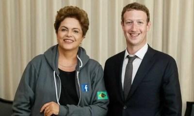 dilma rousseff mark zuckerberg - Governo brasileiro anuncia parceria com Facebook
