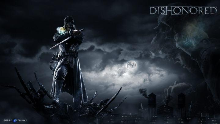 dishonored hd wallpaper by samuels graphics d60axpe 720x405 - Confira os games da PSN Plus em Abril