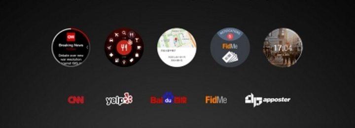 samsung orbis apps 720x261 - Nova geração do Samsung Gear terá display circular