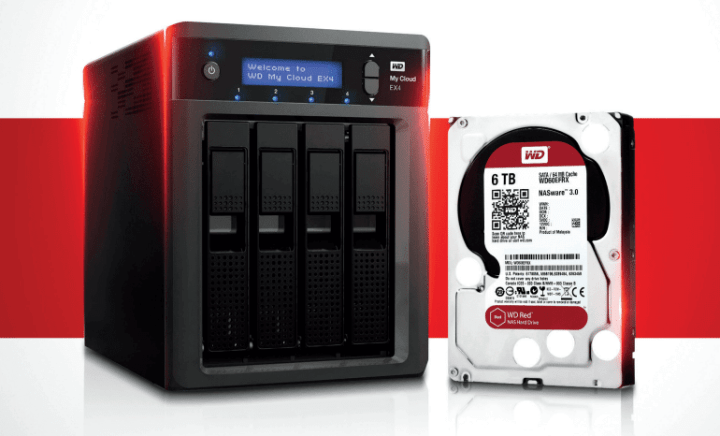 wd red 720x436 - WD aumenta linha de HDs especiais para vigilância