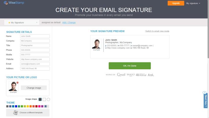wisestamp 2 720x405 - Tutorial: Aprenda a criar assinaturas de e-mails com o WiseStamp