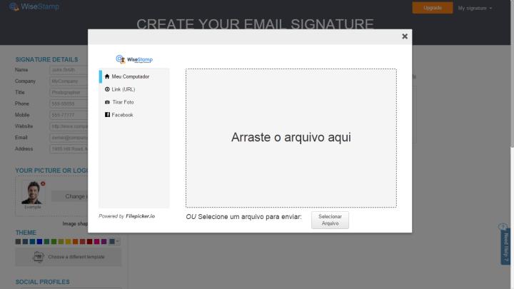 wisestamp 3 720x405 - Tutorial: Aprenda a criar assinaturas de e-mails com o WiseStamp
