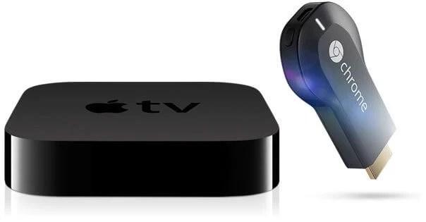 appletv chromecast - Apple TV vs. Chromecast: procura pelo gadget do Google cresce o dobro em relação à Apple TV
