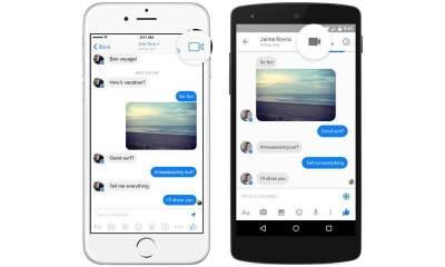 Facebook Messenger videochamadas