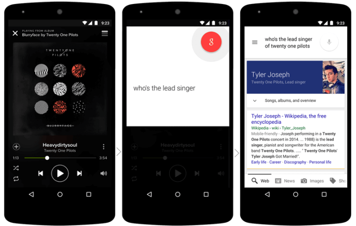 now on tap 720x458 - Android M: confira as novidades do sucessor do Lollipop