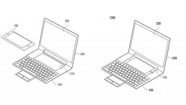 Patente da Samsung transforma Android em Laptop Windows