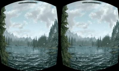 skyrim - Trinus VR leva realidade virtual para qualquer jogo de PC