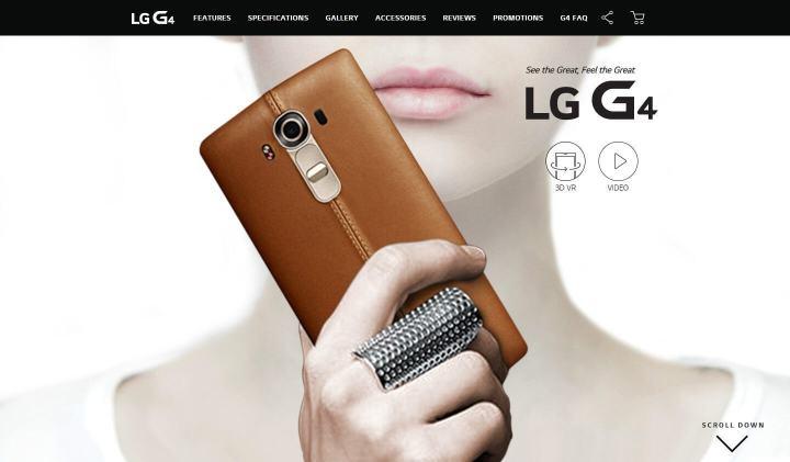 smt lgg4 01 720x421 - LG anuncía inicio das vendas do G4
