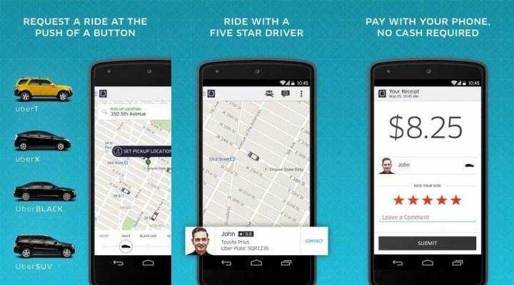 uber 3 0 for android brings major redesign 443145 2 720x400 - Opinião: Parar o Uber é parar a inovação no trânsito
