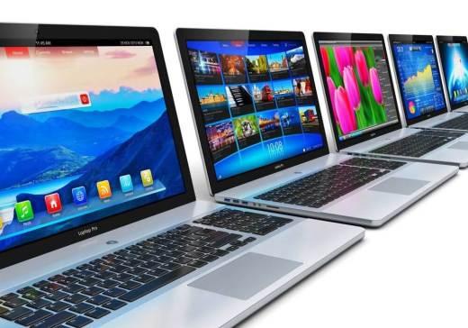 Venda de notebooks também registrou queda / Fonte: Shutterstock