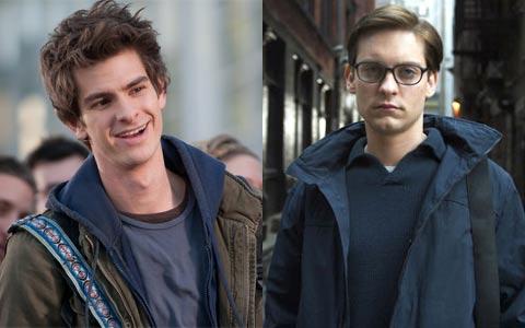 Andrew Garfield e Tobey Maguire, os dois Homens-Aranha dos cinemas: Qual foi melhor?