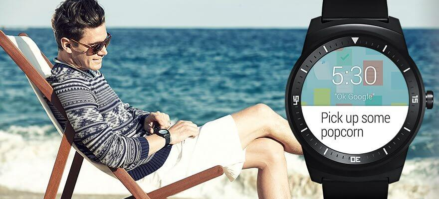 feature smart watch notificacoes - LG G Watch R: confira o review do relógio inteligente da LG