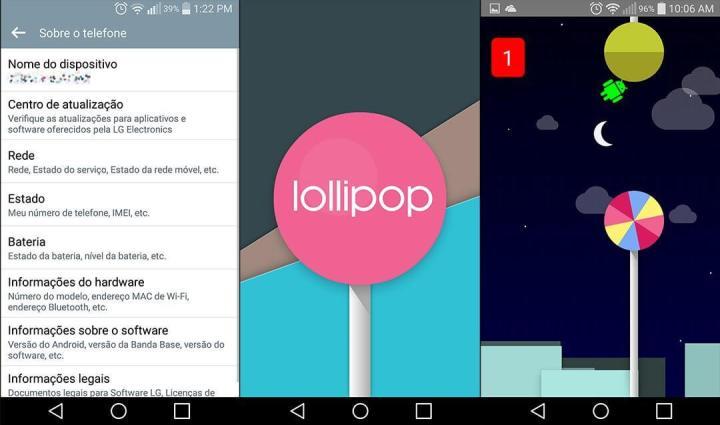 lg g flex 2 lollipop showmetech1 720x425 - Review: LG G Flex 2, o smartphone curvo e potente