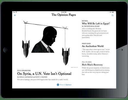 ny times ipad mobile iphone - NY Times obriga funcionários a ver notícias em dispositivos móveis