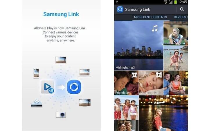 Samsung-Link-Smartphone