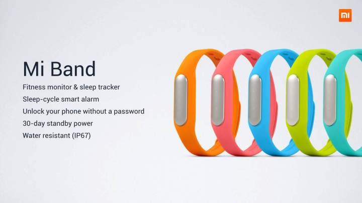 smt xiaomi miband 03 720x405 - Smartband e Power bank são outras novidades trazidas pela Xiaomi para o Brasil
