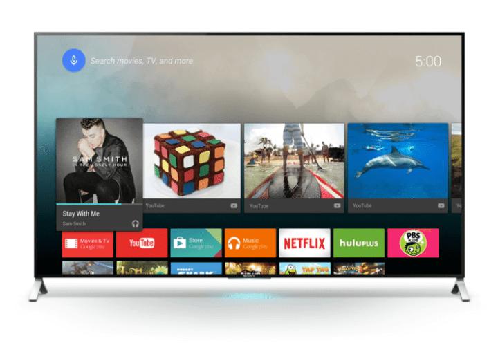 sony android tv google 720x496 - Sony apresenta a primeira linha de Android TVs 4K do Brasil