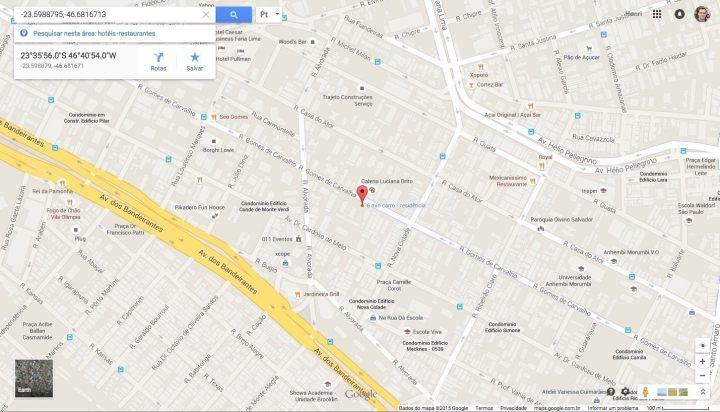 teste endereco localizacao navegador maps 720x412 - Exclusivo: falha impossibilita encontrar localização enviada via WhatsApp no app Maps