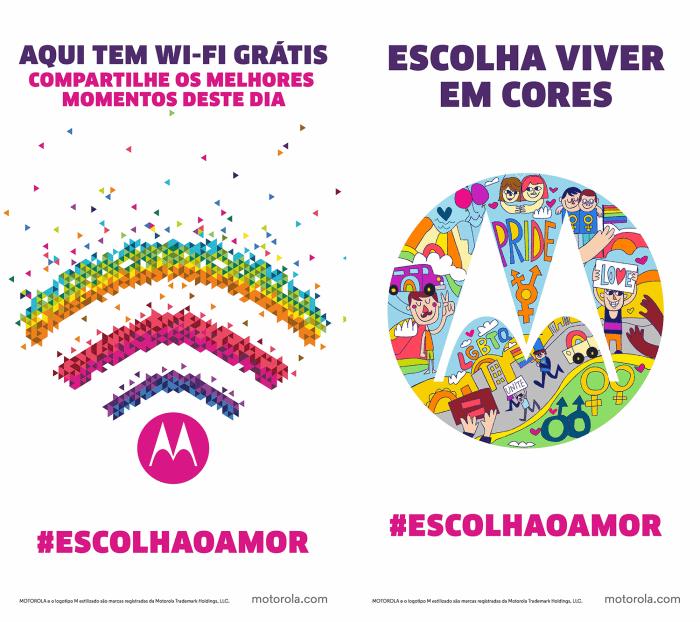 wifi motorola campanha 700x622 - Motorola oferecerá WiFi gratuito durante a 19ª Parada do Orgulho Gay