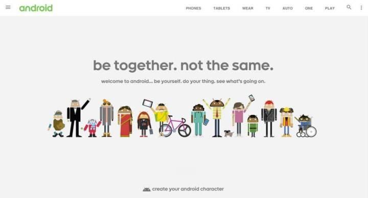 android dot com 720x389 - Google cria framework para levar o Material Design para as páginas Web