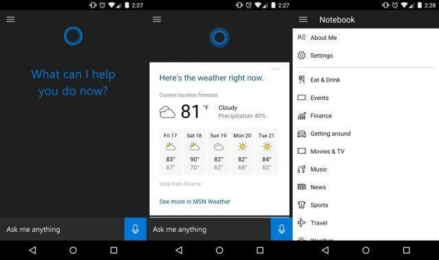 cortana - Experimente agora a Cortana para Android (APK vazado)