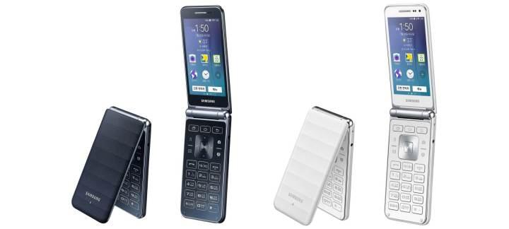 galaxy folder 720x324 - Samsung apresenta segunda geração do Galaxy Folder, o celular flip