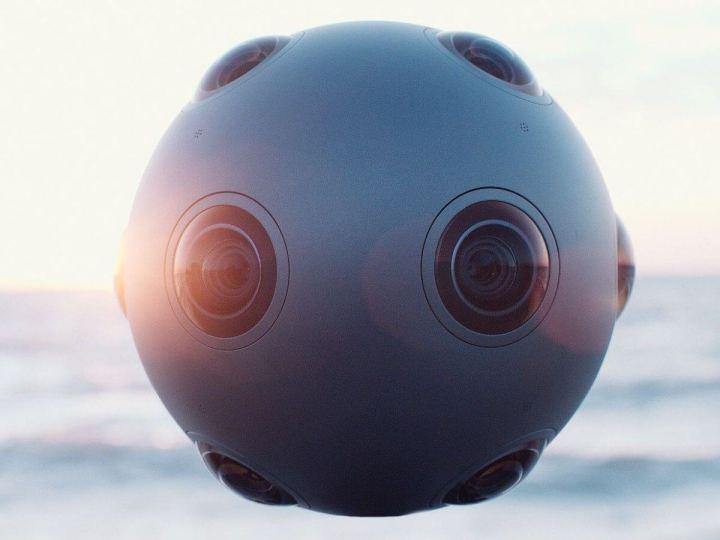 nokia ozo 720x540 - Nokia anuncia Ozo, câmera para realidade virtual