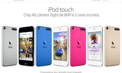 itouch - Apple Brasil começa a vender o novo iPod Touch