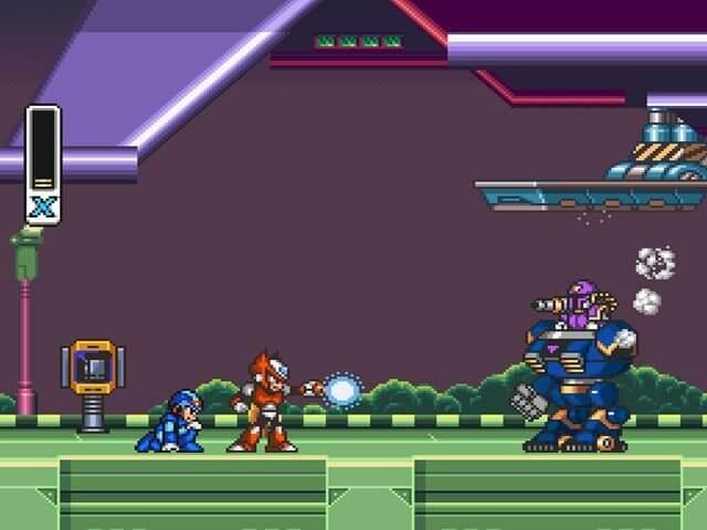 megaman x - 10 games retrô para jogar no navegador