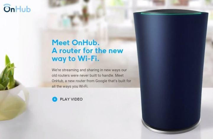 onehub google 720x472 - Google lança o OnHub, seu próprio roteador de Internet