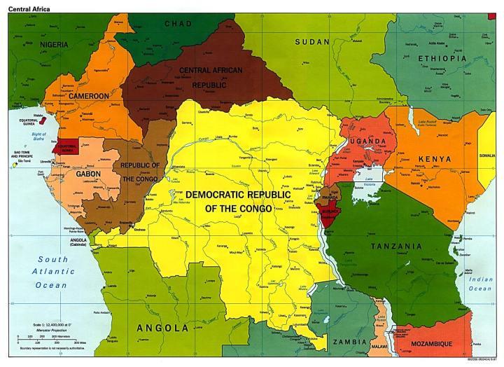 smt ebola mapa 720x524 - OMS anuncia vacina 100% eficaz contra o Ebola