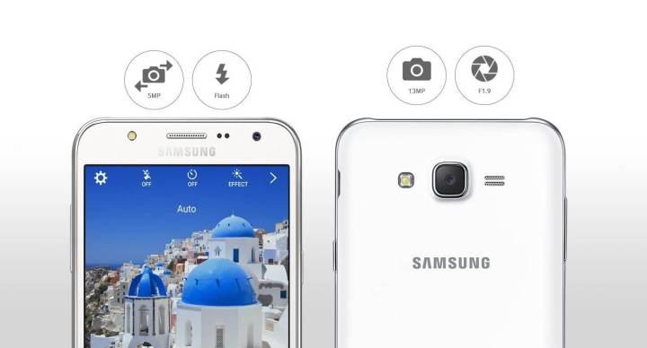 smt galaxyj camera 720x388 - Samsung Galaxy J: Conheça a nova linha de smartphones que chega ao Brasil
