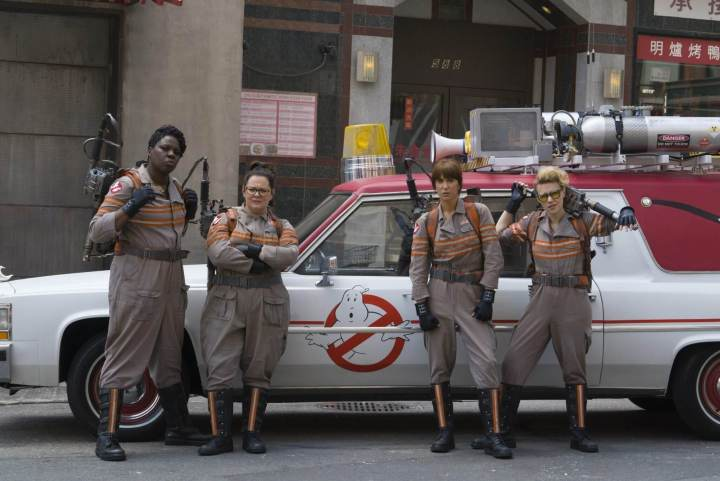 """smt ghostbusters newteam 720x481 - Bill Murray confirma participação no próximo filme de """"Os Caça-Fantasmas"""""""
