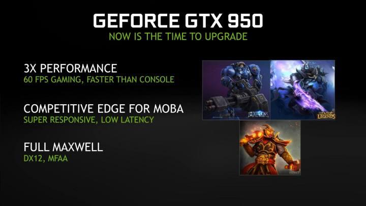smt gtx950 performance 720x405 - Com bom preço e desempenho, NVIDIA anuncia a GeForce GTX 950