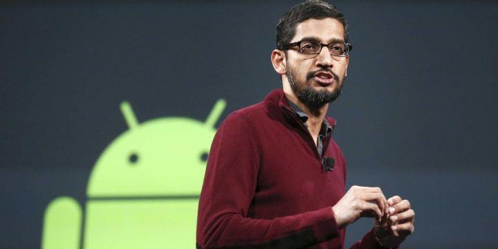 sundai pichai 720x360 - Google tem um novo dono: a empresa Alphabet