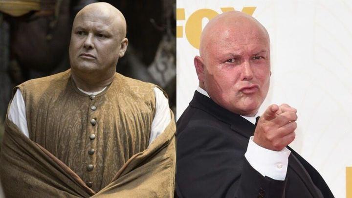 """conleth hill got red carpet 720x405 - No Mercy: """"Game of Thrones"""" tem vitória sangrenta no Emmys 2015"""