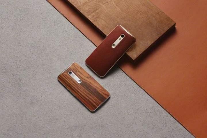 moto x style wood leather backs 720x480 - Moto X Style tem preço revelado para o Brasil