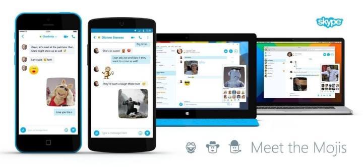skype mojis 720x333 - Skype anuncia emojis animados com Minions, De Volta para o Futuro, Muppets, Doctor Who e mais