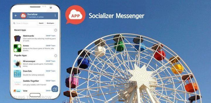 socializer 720x352 - Relembre o MSN com o Socializer, novo app de mensagens da Samsung
