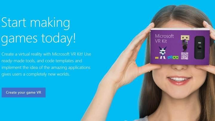 vr kit 720x406 - Microsoft cria óculos de realidade virtual para competir com Google Cardboard