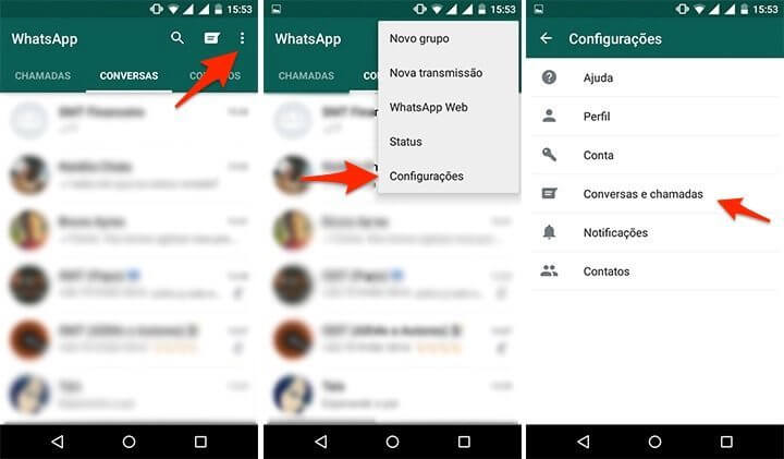 configuraes1 720x421 - Tutorial: backup automático do WhatsApp no Google Drive