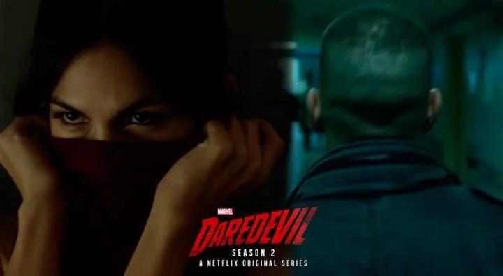 justiceiro e elektra capa - Justiceiro e Elektra aparecem no primeiro teaser da 2ª temporada de Demolidor