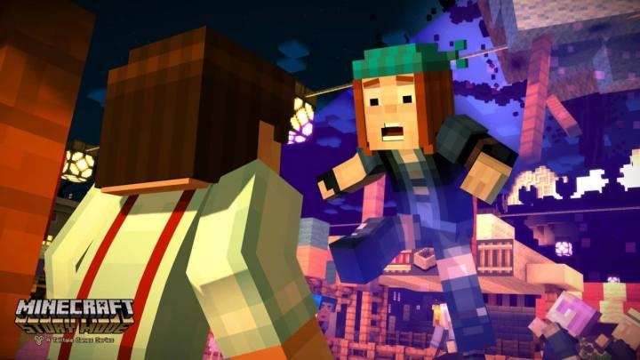 minecraft modo historia episodio 1 720x405 - Confira o Trailer de Minecraft - A Ordem da Pedra