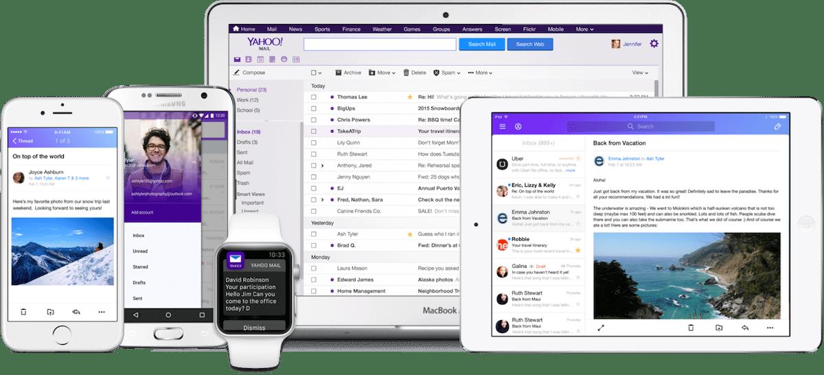 multiple mailboxes all devices - Yahoo Mail dispensa senhas e ganha redesign