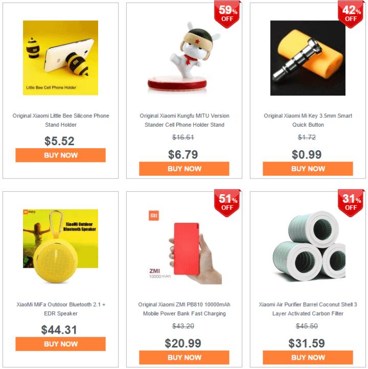 screenshot 41 720x722 - Compre vários produtos Xiaomi em promoção na GearBest