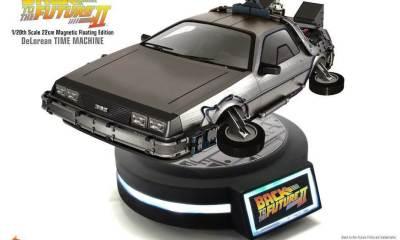 time machine 1 01 1 - Cale a boca e tome o meu dinheiro, preciso dessa réplica voadora do DeLorean