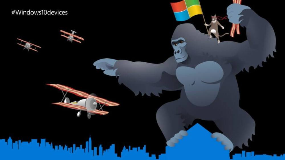 Evento da Microsoft #Windows10devices