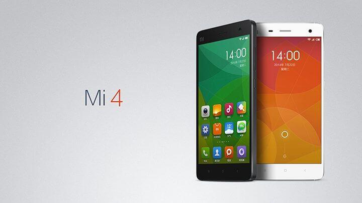 xiaomi mi4 720x405 - Compre vários produtos Xiaomi em promoção na GearBest