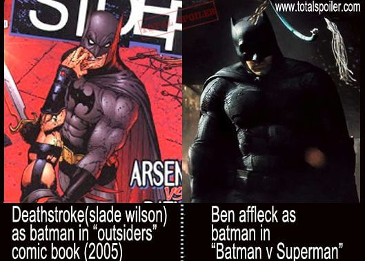 batman deathstroke - Batman v Superman: teoria insana sugere outro Batman no filme
